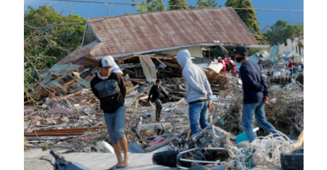 Support Relief in Wake of Disasters in Asia image