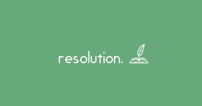Sermon Series: Resolution image