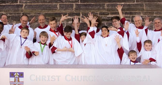 Boys choir camp