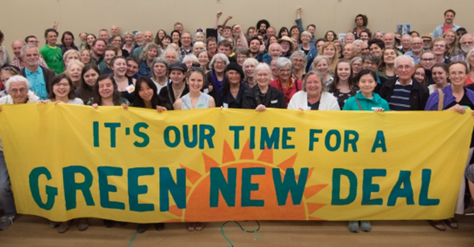 The Green New Deal is gaining momentum
