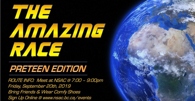 Preteen Amazing Race Event