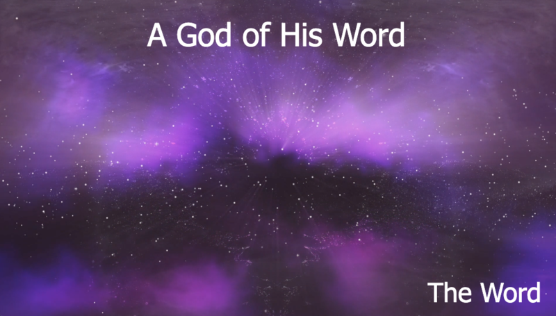 A God of His Word
