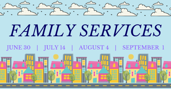 Family Service Sundays