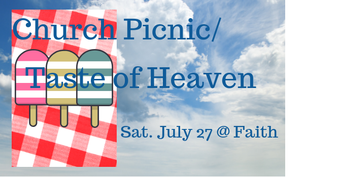 Church Picnic/Taste of Heaven