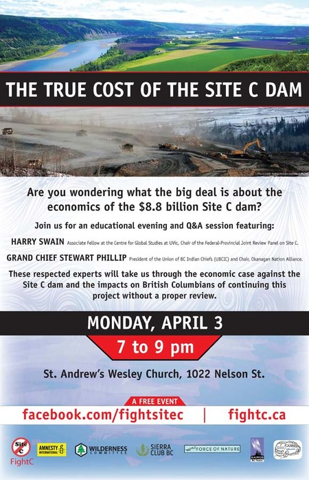 KAIROS - Site C Dam Information Event