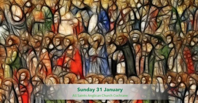 Eucharist Service January 31, 2021