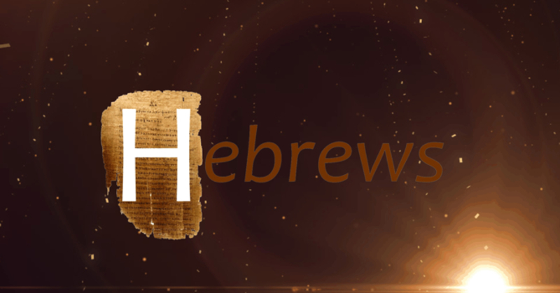 Intro To Hebrews