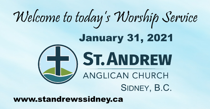January 31, 2021 On-Line Sunday Service image