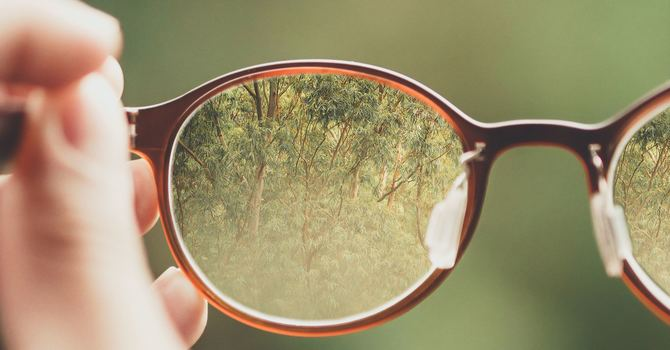 Losing Sight, but Seeing Christ