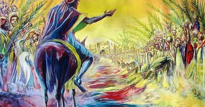 Palm Sunday April 14, 2019 Luke 19:28-40 image