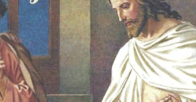 Worship Service Bulletin - Second Sunday of Easter image