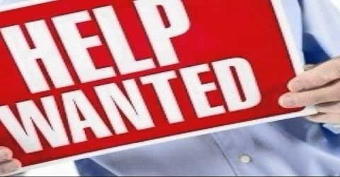 Help wanted.... apply here. image