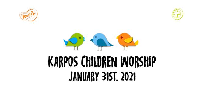 210131 Elementary Sunday Worship