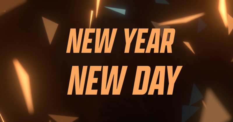 New Year, New Day