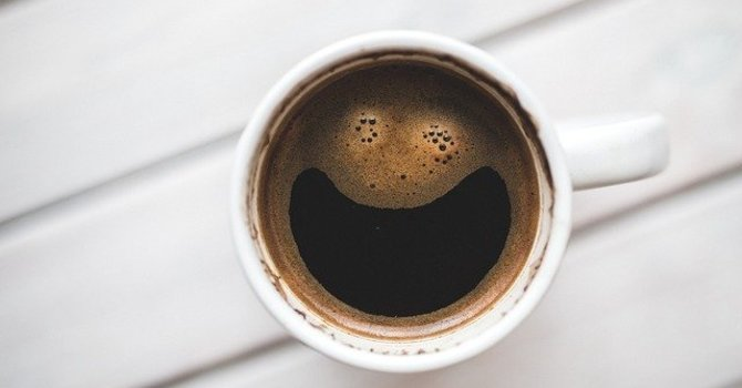 Virtual coffee and chat image