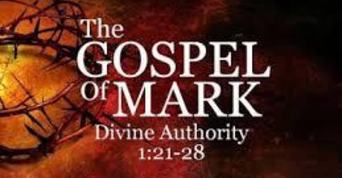 Gospel of Mark 1: 21-28 image