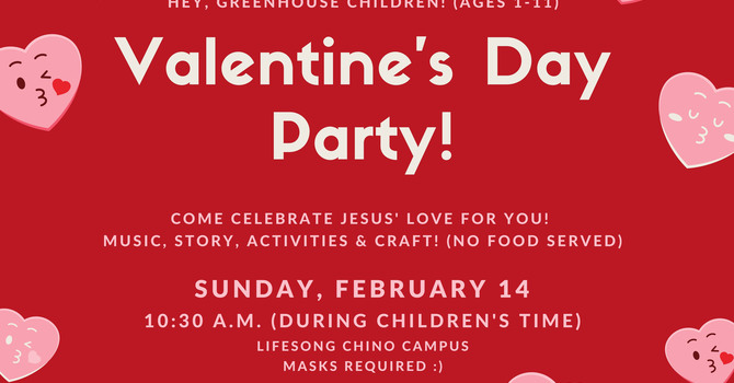 Greenhouse Valentine's Day Party image