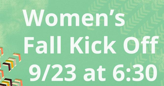 Women's Ministry Fall Kick-Off
