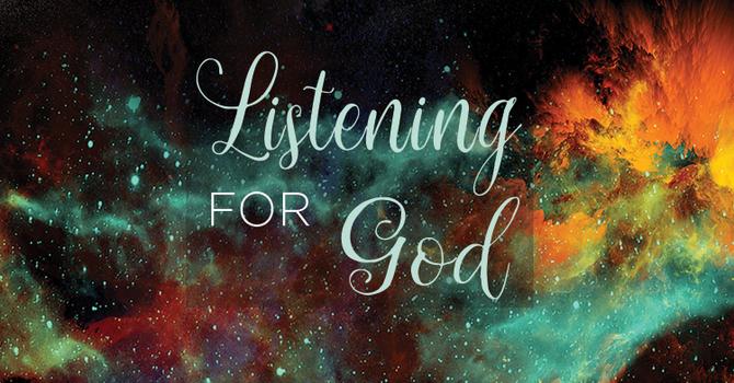 Samuel: Listening for God