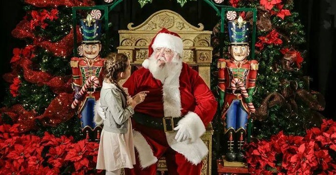 Reflections on being Santa image