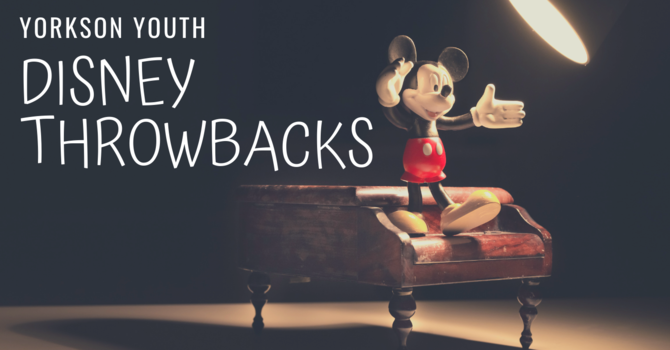 Yorkson Youth Disney Throwbacks