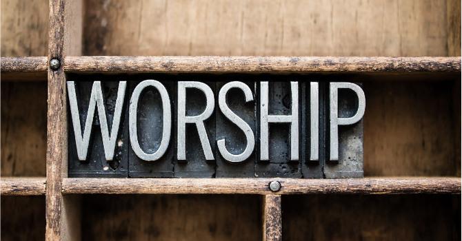 Sunday March 22 Worship image