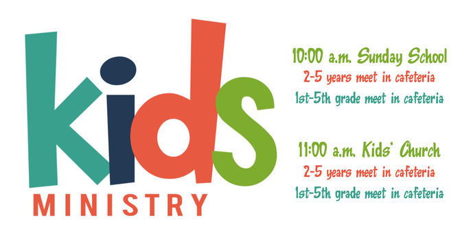 Kids' Ministry Return image