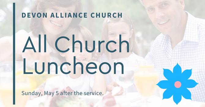 All Church Luncheon