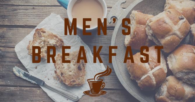 Men Meeting Over Breakfast
