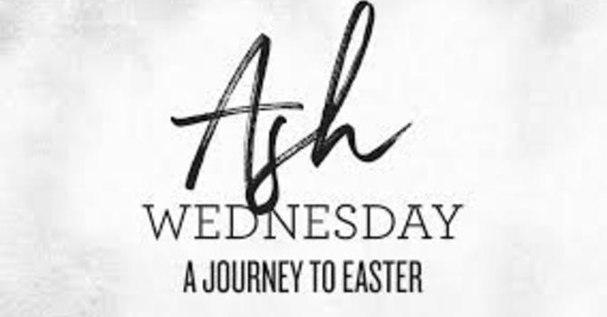 Ash Wednesday Liturgy - Bilingual 7:00 pm image
