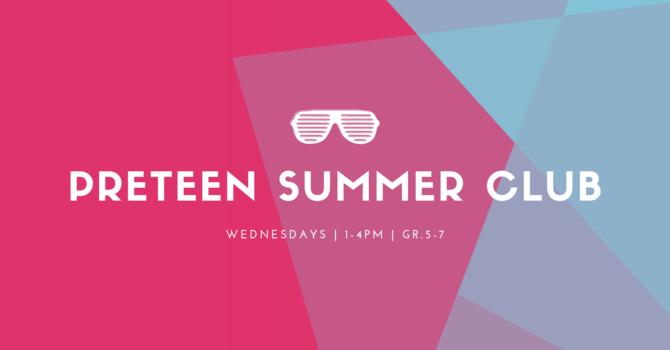 Preteen Summer Club