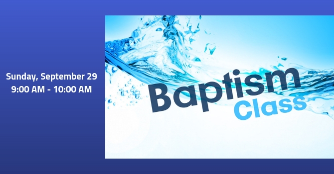 Discovering Bethany Baptism Class