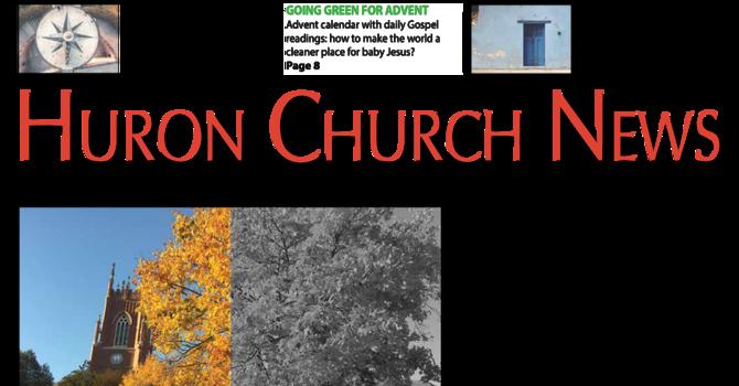 Huron Church News - December 2020 image