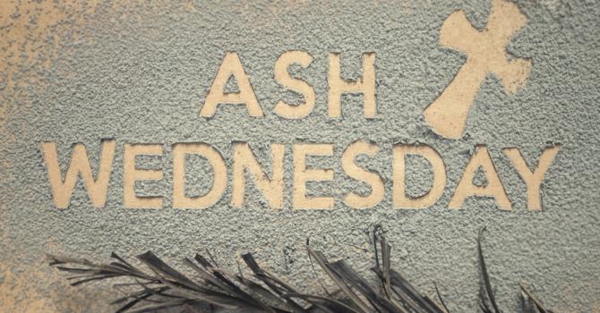 Ash Wednesday Ashes image