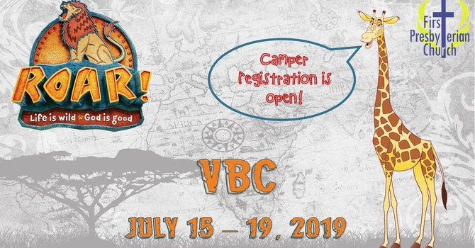 Vacation Bible Camp registration OPEN