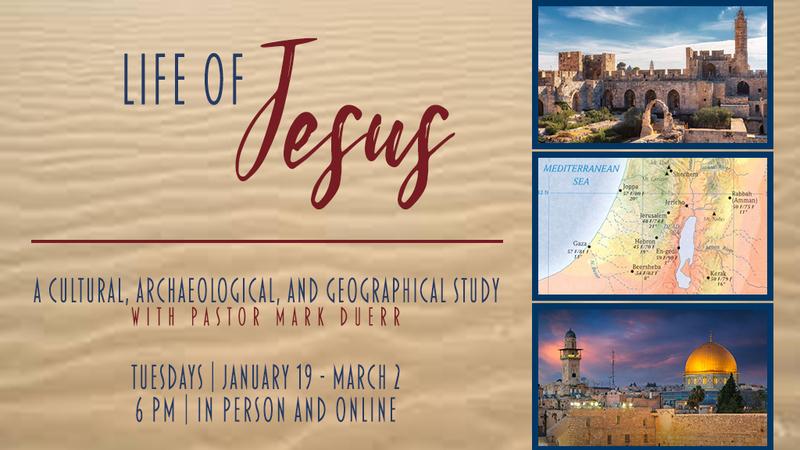 Life of Jesus   Week 3