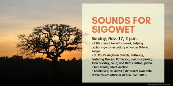 Sounds for Sigowet concert