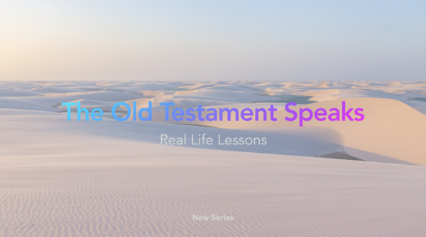 The Old Testament Speaks