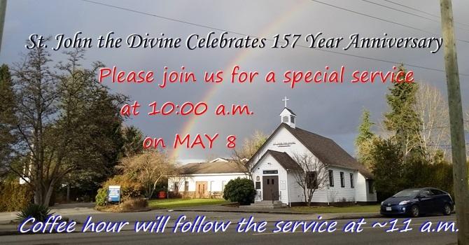 Anniversary Sunday at St. John the Divine, MR