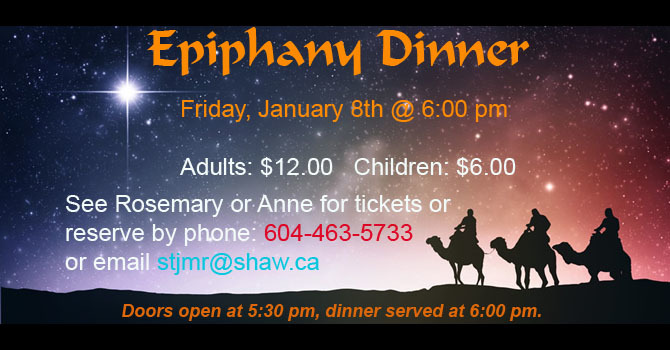 Epiphany Dinner