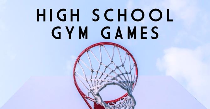 High School Gym Games