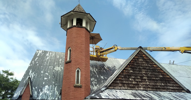 St. James Anglican Church restoration work completed image