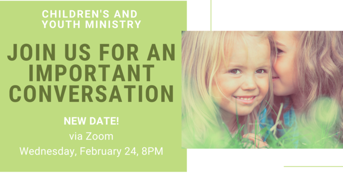 Conversation about Children, Youth and Family Ministry image