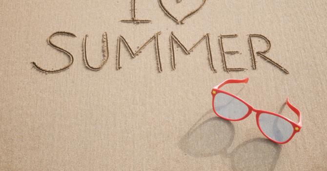 Make Plans for Summer!