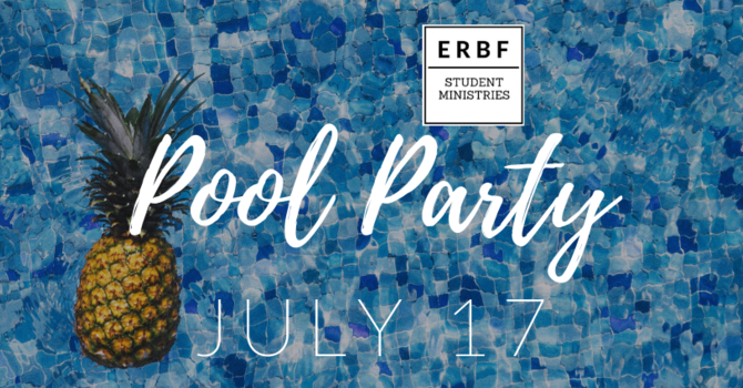 Student Ministries Pool Party