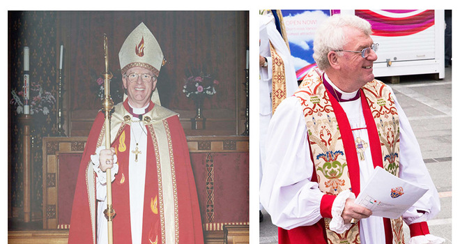 Happy 25th Anniversary Bishop Michael Ingham image