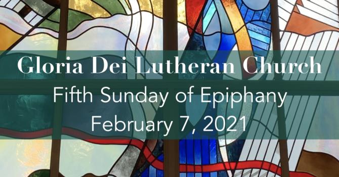 Epiphany 5B - February 7, 2021 image
