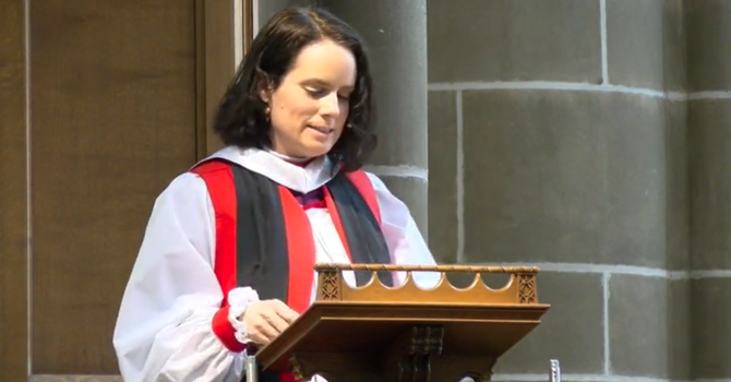 Bishop's sermon breaks the internet! image