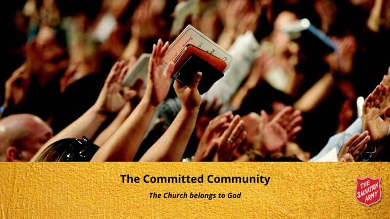 The Committed Community - The Church belongs to God