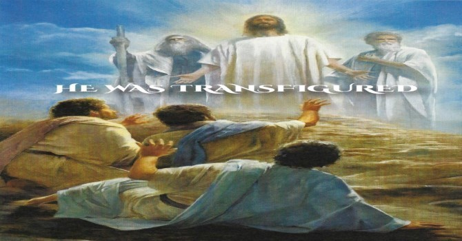 Worship Service Bulletin - The Transfiguration of our Lord image
